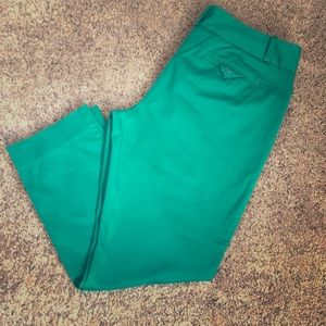 Green ankle pants from The Limited; size 10